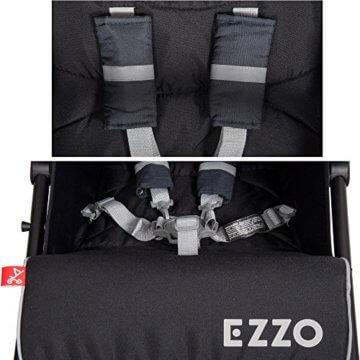 Buggy Kinderwagen EZZO Antracite Aluminium Sportwagen Jogger klappbar mit Liegefunktion - 7
