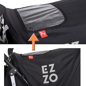 Buggy Kinderwagen EZZO Antracite Aluminium Sportwagen Jogger klappbar mit Liegefunktion - 8