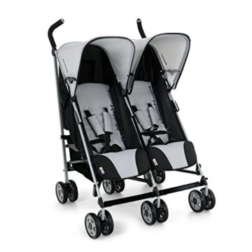 Hauck 139011 Kinderwagen Turbo 11 Duo H-Grey - 2