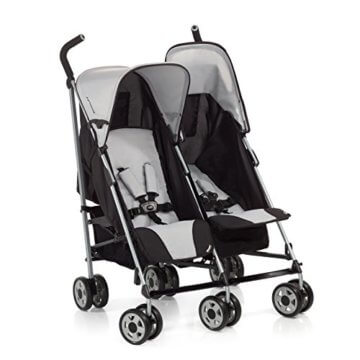 Hauck 139011 Kinderwagen Turbo 11 Duo H-Grey - 1
