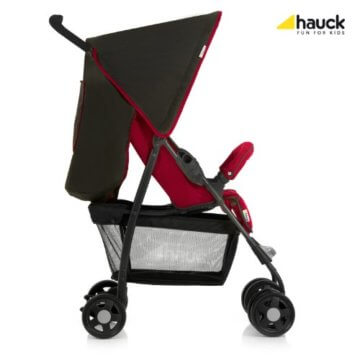 Hauck 17122 Sport Tango/Caviar Buggy, rot/schwarz - 2
