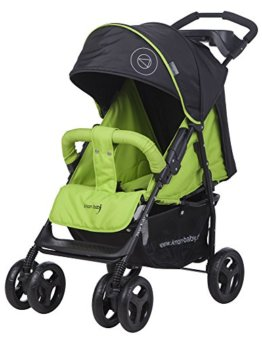 "knorr-baby 820520 Sportwagen Vero ""Happy Colour"", XL, grün - 1"
