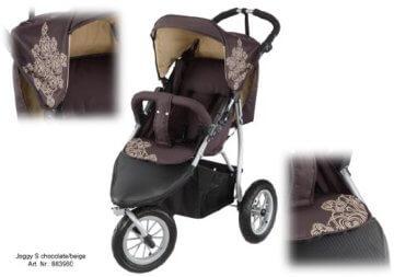 knorr-baby 883960 EVA-Rad- Joggy S chocolate-beige - 2