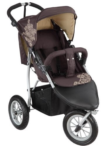 knorr-baby 883960 EVA-Rad- Joggy S chocolate-beige - 1