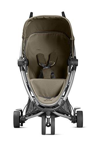 Quinny Zapp Xtra Buggy (superleicht, inkl. Einkaufskorb, Sonnenverdeck, Regenverdeck, Sonnenschirmclip, Adapter für die Babyschale) brown fierce - 2