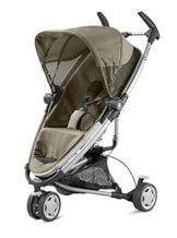 Quinny Zapp Xtra Buggy (superleicht, inkl. Einkaufskorb, Sonnenverdeck, Regenverdeck, Sonnenschirmclip, Adapter für die Babyschale) brown fierce - 1