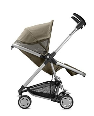 Quinny Zapp Xtra Buggy (superleicht, inkl. Einkaufskorb, Sonnenverdeck, Regenverdeck, Sonnenschirmclip, Adapter für die Babyschale) brown fierce - 3