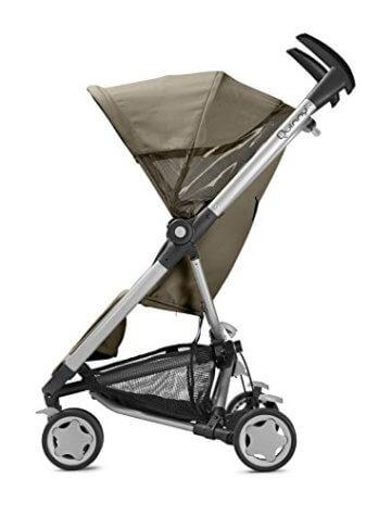 Quinny Zapp Xtra Buggy (superleicht, inkl. Einkaufskorb, Sonnenverdeck, Regenverdeck, Sonnenschirmclip, Adapter für die Babyschale) brown fierce - 4
