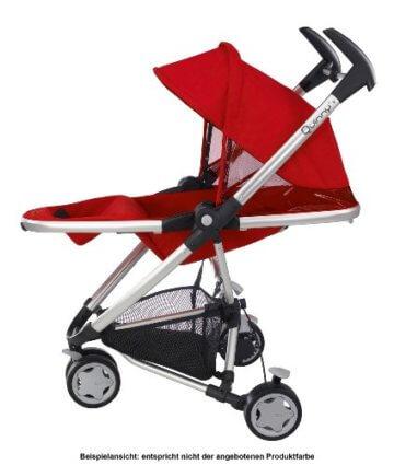 Quinny Zapp Xtra Buggy (superleicht, inkl. Einkaufskorb, Sonnenverdeck, Regenverdeck, Sonnenschirmclip, Adapter für die Babyschale) brown fierce - 5