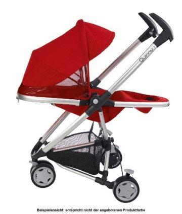 Quinny Zapp Xtra Buggy (superleicht, inkl. Einkaufskorb, Sonnenverdeck, Regenverdeck, Sonnenschirmclip, Adapter für die Babyschale) brown fierce - 6