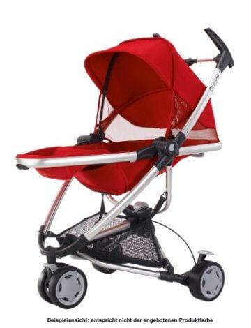 Quinny Zapp Xtra Buggy (superleicht, inkl. Einkaufskorb, Sonnenverdeck, Regenverdeck, Sonnenschirmclip, Adapter für die Babyschale) brown fierce - 7