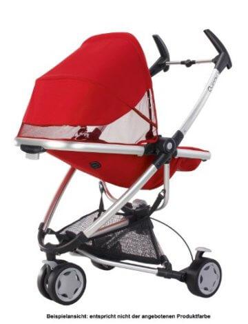 Quinny Zapp Xtra Buggy (superleicht, inkl. Einkaufskorb, Sonnenverdeck, Regenverdeck, Sonnenschirmclip, Adapter für die Babyschale) brown fierce - 8