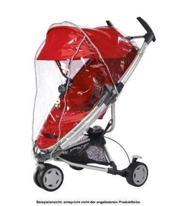Quinny Zapp Xtra Buggy (superleicht, inkl. Einkaufskorb, Sonnenverdeck, Regenverdeck, Sonnenschirmclip, Adapter für die Babyschale) brown fierce - 9